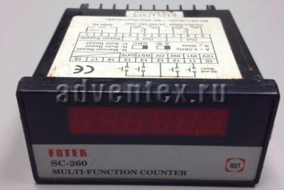 Электронный счетчик fotek SC-260